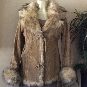 Genuine Leather size M coat